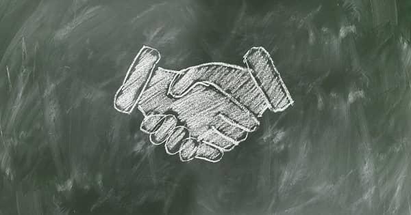 Shaking Hands Relationship